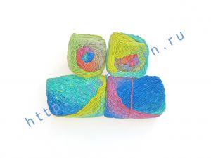 Пряжа 1,6/1. 70% Шерсть, 30% натуральный шелк малберри (mulberry silk) . Основные цвета красный, синий зеленый, желтый
