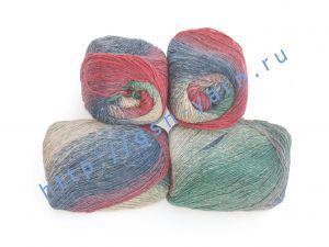 Пряжа 2/1. 70% Шерсть, 30% нейлон. Основные цвета красный, зеленый, синий, бежевый