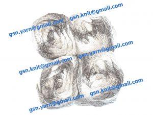 Узелковая пряжа, непсы (NEPS yarn, пряжа с включениями) 2/1. 55% Хлопок, 40% вискоза, 5% натуральный шелк (mulberry silk). Основные цвета серый, бежевый и их оттенки