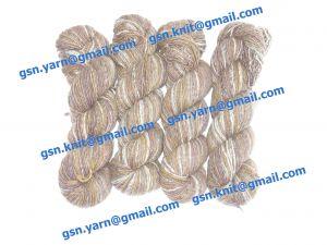 Пряжа 2/1. 85% Натуральный шелк (mulberry silk), 15% кашемир. Основные цвета коричневый, серый и их оттенки