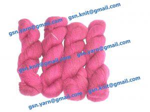 Пряжа 4/1. 55% Натуральный шелк (mulberry silk), 20% мягкая шерсть (softwool), 20% нейлон, 5% кашемир. Основные цвета бордовый, красный и их оттенки