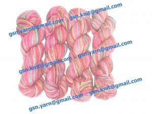 Пряжа 2,8/1. 55% Натуральный шелк (mulberry silk), 25% мягкая шерсть (softwool), 20% кашемир. Основные цвета бордовый, голубой, зеленый и их оттенки