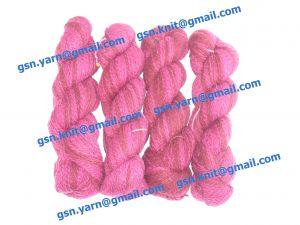 Пряжа 4/1. 55% Натуральный шелк (mulberry silk), 20% мягкая шерсть (softwool), 20% нейлон, 5% кашемир. Основные цвета бордовый, малиновый и их оттенки