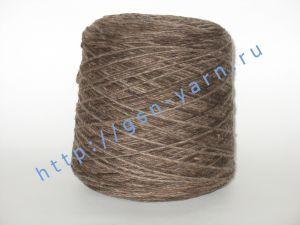 Пряжа 1,5/1. 40% Шерсть, 28% акрил, 27% нейлон, 5% лен. Основные цвета оттенки коричневого