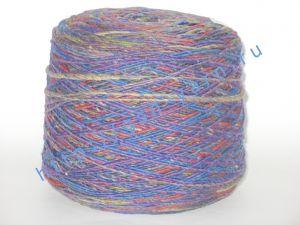Пряжа 1/1. 50% Шерсть, 30% акрил, 20% натуральный шелк (mulberry silk). Основные цвета красный, синий, зеленый, фиолетовый