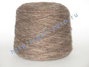 Пряжа 1,5/1. 40% Шерсть, 28% акрил, 27% нейлон, 5% лен. Основные цвета оттенки светло-коричневого, серый