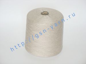 Пряжа 28/1. 70% Вискозный шелк (rayon), 20% конопля, 10% мягкая шерсть (softwool). Цвет бежевый