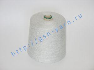 Пряжа 28/1. 70% Вискозный шелк (rayon), 20% конопля, 10% альпака (baby alpaca). Цвет серо-голубой