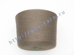 Пряжа 28/1. 60% Хлопок, 35% лен, 5% альпака (baby alpaca). Цвет пыльно-коричневый
