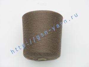 Пряжа 28/2. 60% Хлопок, 35% лен, 5% альпака (baby alpaca). Цвет пыльно-коричневый