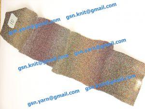 Узелковая пряжа, непсы (NEPS yarn, пряжа с включениями) 3/1. 55% Хлопок, 40% вискоза, 5% натуральный шелк (mulberry silk). Основные цвета бордовый, зеленый и их оттенки