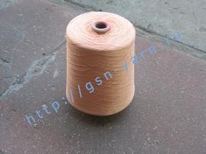 Пряжа 28/1. 90% Вискозный шелк (rayon), 6% натуральный шелк (mulberry silk), 4% кашемир. Цвет