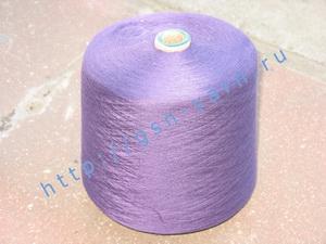 Пряжа 28/1. 90% Хлопок, 9% натуральный шелк (mulberry silk), 1% кашемир. Цвет