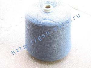 Пряжа 28/2. 52% Вискозный шелк (rayon), 38% хлопок, 10% натуральный шелк (mulberry silk). Цвет