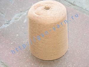 Узелковая пряжа, непсы (NEPS yarn, пряжа с включениями) 15/1. 60% Хлопок, 40% нейлон. Цвет