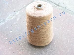 Узелковая пряжа, непсы (NEPS yarn, пряжа с включениями) 15/2. 60% Хлопок, 40% нейлон. Цвет