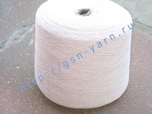 Пряжа 14/2. 60% Натуральный шелк (mulberry silk), 20% хлопок, 20% вискоза. Цвет