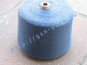 Пряжа 28/1. 70% Вискозный шелк (rayon), 20% бамбук, 10% натуральный шелк (mulberry silk). Цвет
