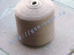 Пряжа 28/1. 70% Вискозный шелк (rayon), 20% бамбук 10% мягкая шерсть (softwool). Цвет