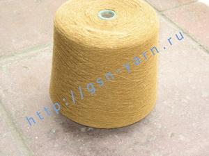 Пряжа 10,2/1. 60% Хлопок, 40% натуральный шелк (mulberry silk). Цвет