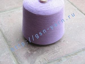 Пряжа 28/1. 50% Хлопок, 40% вискозный шелк (rayon), 10% ангора (dehaired angora). Цвет