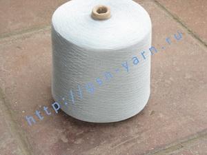 Пряжа 28/1. 70% Вискозный шелк (rayon), 20% тенцель (тенсель, tencel), 10% натуральный шелк (mulberry silk). Цвет