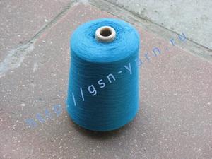 Пряжа 28/1. 50% Хлопок, 40% вискозный шелк (rayon), 10% мягкая шерсть (softwool). Цвет