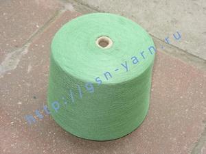Пряжа 28/1. 90% Вискозный шелк (rayon), 9% натуральный шелк (mulberry silk), 1% кашемир. Цвет