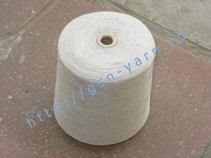 Пряжа 28/1. 70% Вискозный шелк (rayon), 20% тенцель (тенсель, tencel), 10% мягкая шерсть (softwool). Цвет