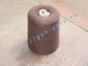 Пряжа 48/2 на бобинах для ручного и машинного вязания, ткачества. 56% Натуральный шелк (mulberry silk), 20% беби альпака (baby alpaca), 16% шерсть (soft wool), 8% лен. Цвет коричневый