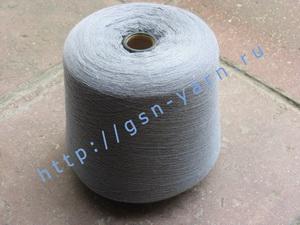 Пряжа 48/2 на бобинах для ручного и машинного вязания, ткачества. 85% Натуральный шелк (mulberry silk), 15% беби альпака (baby alpaca). Цвет серо-голубой