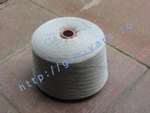 Пряжа 30/2 на бобинах для ручного и машинного вязания, ткачества. 85% Натуральный шелк (mulberry silk), 15% беби альпака (baby alpaca). Цвет серебристо-серый