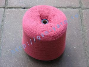 Пряжа 26/2 на бобинах для ручного и машинного вязания, ткачества. 30% Натуральный шелк (mulberry silk), 30% хлопок, 25% шерсть (soft wool), 15% беби альпака (baby alpaca). Цвет пыльная вишня