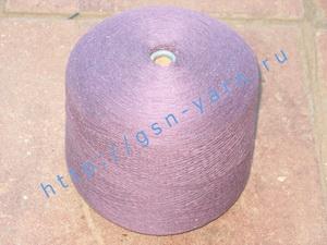 Пряжа 26/2 на бобинах для ручного и машинного вязания, ткачества. Узелковая пряжа, пряжа с включениями (NEPS yarn). 55% Хлопок, 20% шерсть (soft wool), 15% беби альпака (baby alpaca), 10% натуральный шелк (mulberry silk). Цвет фиолетовый + разноцветные вк