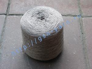 Пряжа 10/4 на бобинах для ручного и машинного вязания, ткачества. 100% Натуральный шелк (mulberry silk). Цвет хаки