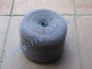 Пряжа 12/1 на бобинах для ручного и машинного вязания, ткачества. 40% Шерсть, 20% вискоза, 20% нейлон, 15% акрил, 5% ангора (angora). Цвет серый, серо-бежевый (меланж ?)